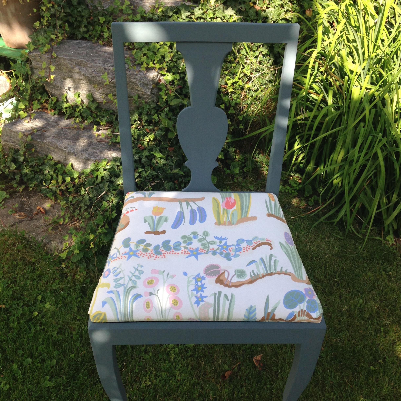 Loppis, secondhand och vintage möbler målade med kalkfärg